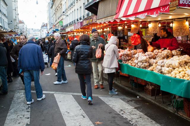 Marché d'Aligre-Bastille-Parigi