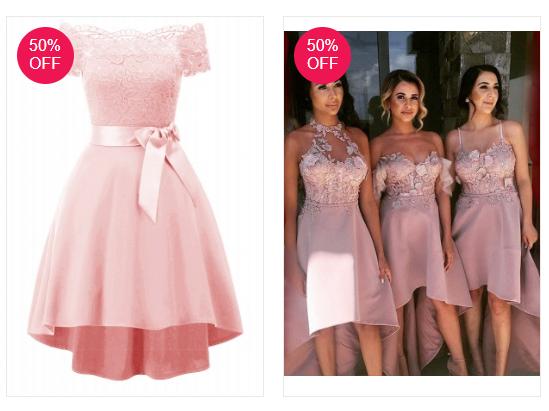Vestido de Festa: Tendência cor Rosa