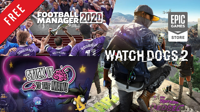 football manager 2020 stick it to the man watch dogs 2 free pc game epic games store simulation platformer adventure sports interactive sega zoink ripstone ubisoft