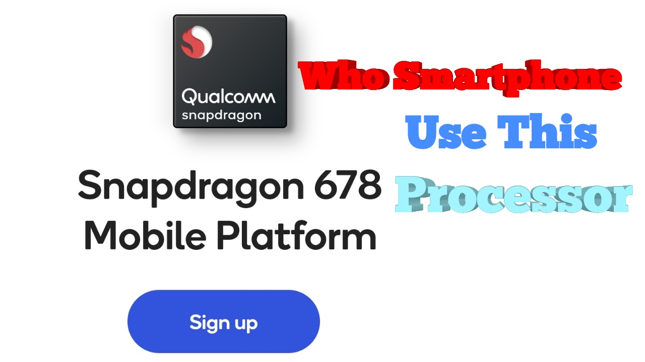 Processor Qualcomm Snapdragon 678