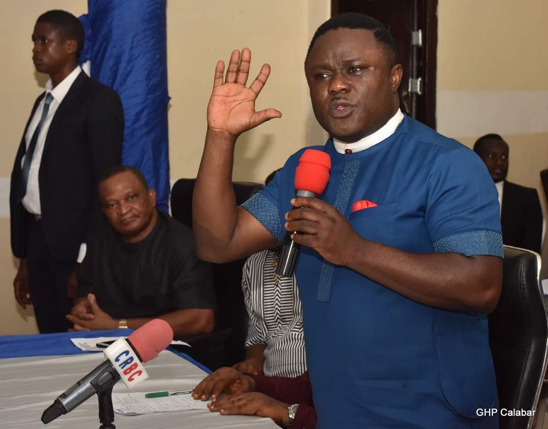 Christmas: Gov. Ayade's Aide Donates Food Items To Bakassi Idps