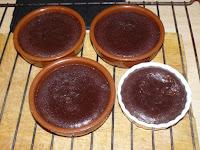 Fondant chocolat noir cuisson