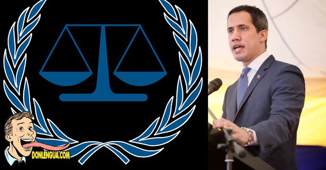 Juan Guaidó asegura que Maduro está cerca de la Corte Penal Internacional