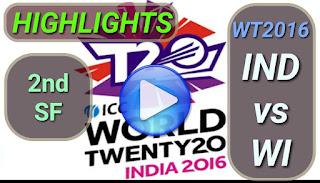 IND vs WI 2nd SF