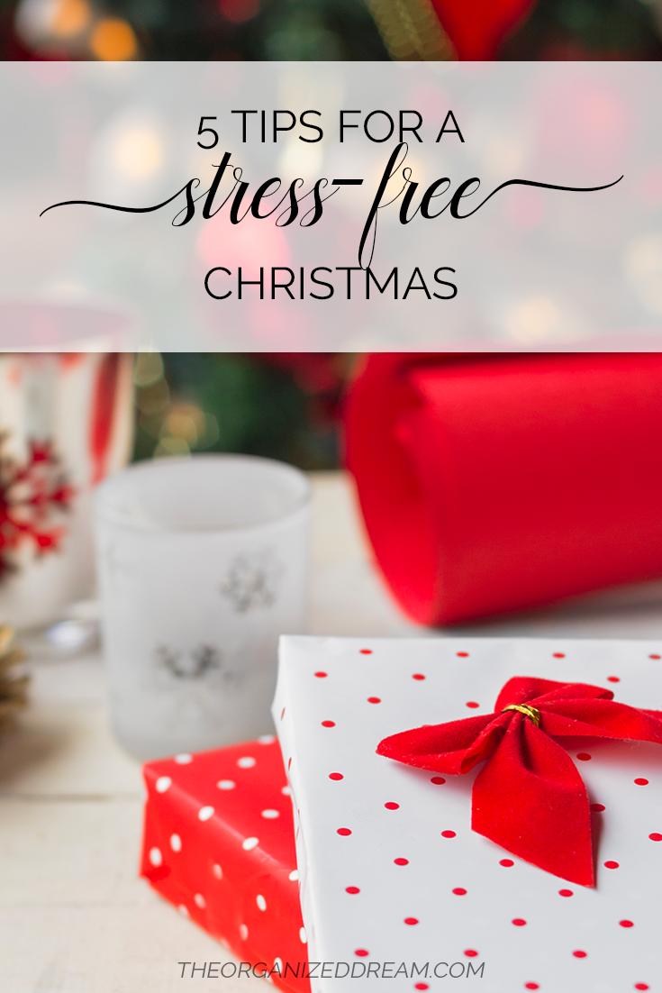5 Tips for A Stress-Free Christmas   #holidays #christmas #lifestyle #tipsandtricks #selfcare