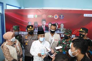 Sukseskan Program 1 Juta Vaksinasi, 12 Lokasi Vaksinasi di Lombok Barat Lebihi Target