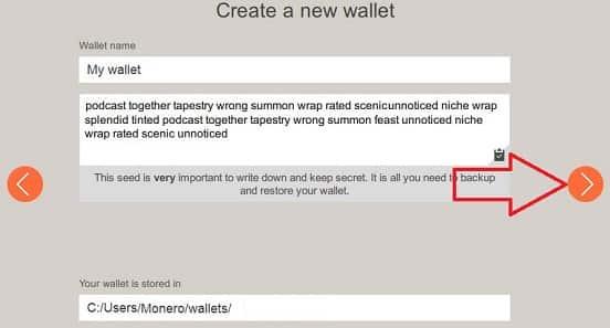 configurar nuevo monedero de monero xmr