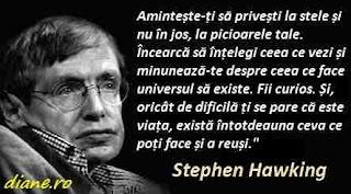 Stephen Hawking: Citate despre om și univers