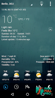 Sense Flip Clock And Weather Pro Paid APK