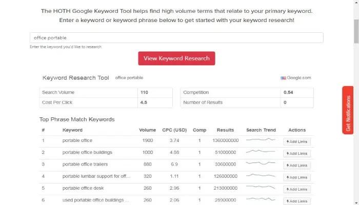 google keyword tool gratis untuk mencari volume pencarian