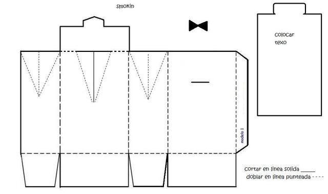 Cajas Patrones De Imprimir Para