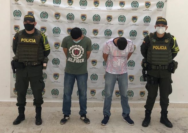 hoyennoticia.com, Dos hermanos presos en Aguachica, los pillaron cuando viajaban para Ocaña