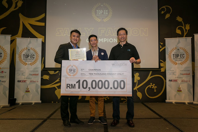 Sally Fashion - Malaysia's Top E-Commerce Merchant Award 2016