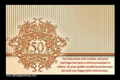50th marriage anniversary wishes
