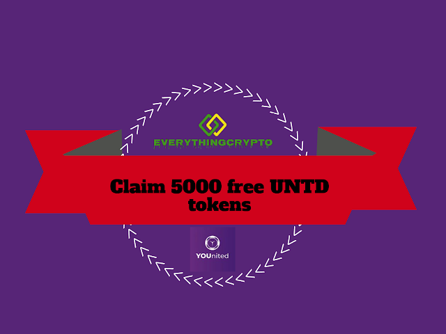 Claim 5000 free UNTD tokens