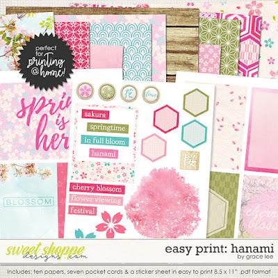 Easy Print: Hanami