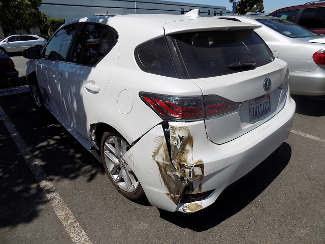 2017 Lexus CT200H Collision Damage Before Repairs at Almost Everything Auto Body