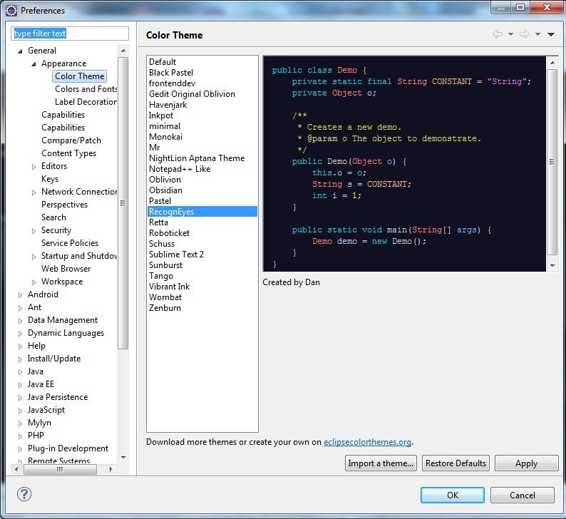 Receitas Tecnológicas: Instalando Temas para o Editor de Código do
