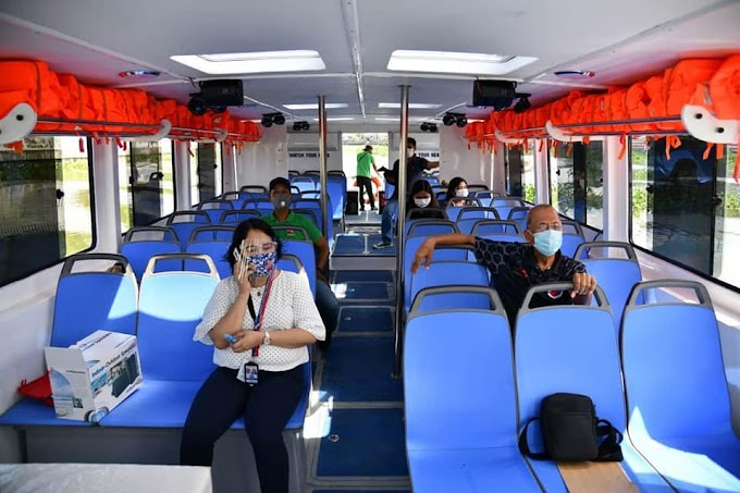 Pasig River Ferry free for health, gov't workers during MECQ