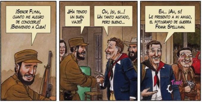 Cómic reseña: 'Arde Cuba', de Agustín Ferrer Casas: Un punto de vista muy particular sobre la revolución cubana