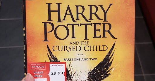 How I Ended up Paying Double for Harry Potter and the Cursed Child