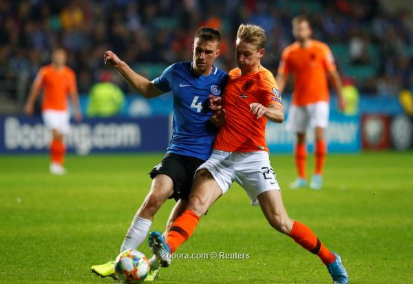 هولندا تفوز برباعية نظيفة و ألمانيا تستعيد توازنها في تصفيات يورو2020