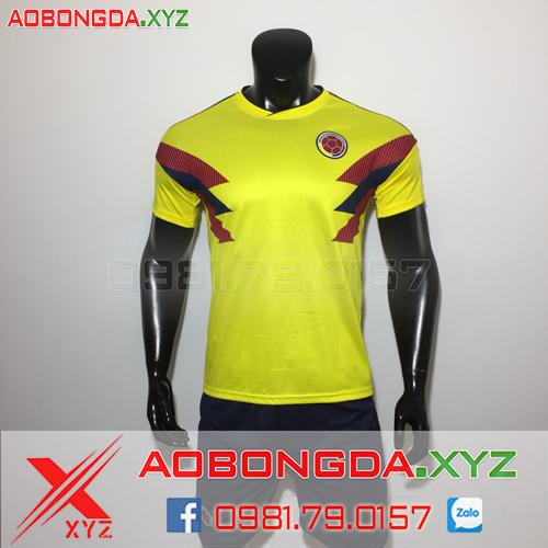 Áo Đội Tuyển Colombia 2019 Sân Nhà