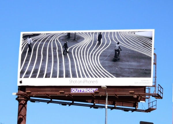 Shot on iPhone 6 contours billboard