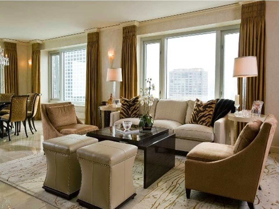 Living Room Design Ideas In Brown And Beige: Dwell Of Decor: Modern Brown And Beige Living Room Designs
