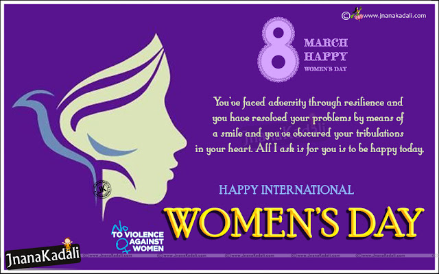 Happy International Women's Day English Greetings, Best Women's Day Wallpapers