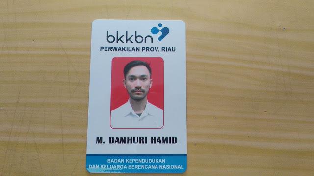 Id card Anggota BKKBN
