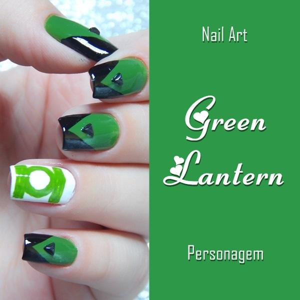 nail-art-green-lantern