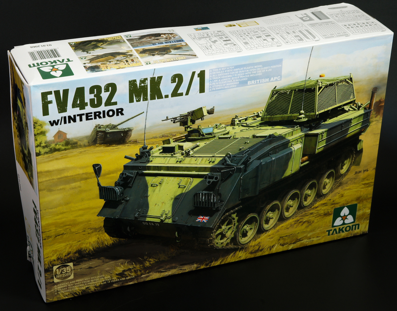 The modelling news claytons build guide of the fv432 mk21 today build guide of the fv432 mk21 british apc takom sciox Choice Image