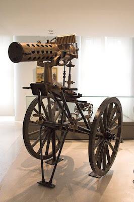 mitrailleuse Gatling