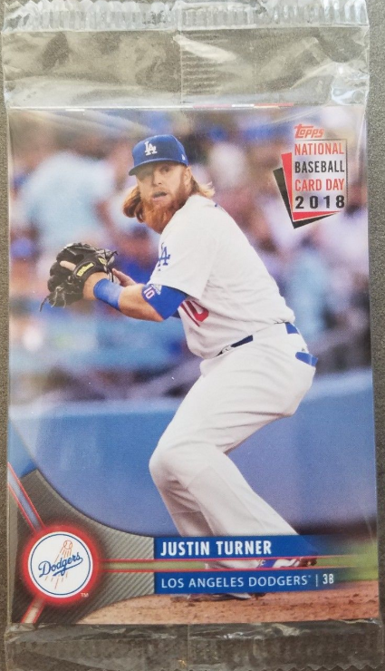 f5606a04 Now that the weekend has past I thought I would share pics of all of the  Dodgers' found in National Baseball Card Day packs.
