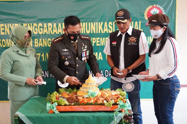 Jalin Silaturahmi, Danrem 071/Wijayakusuma Komsos Dengan HDCI