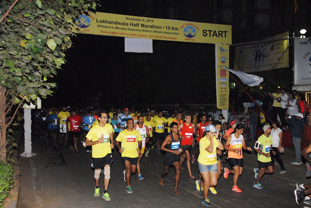 Lokhandwala Half Marathon 10KM