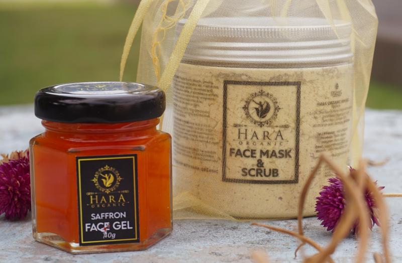 Gentle skincare: Hara Organic Saffron Face Gel Personal Review