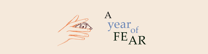 header for blog series - year of fear