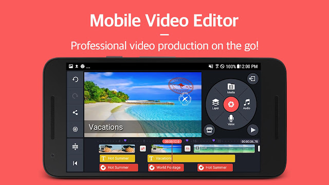 Download KineMaster Pro Mod APK Download – Video Layer Android App Free Download