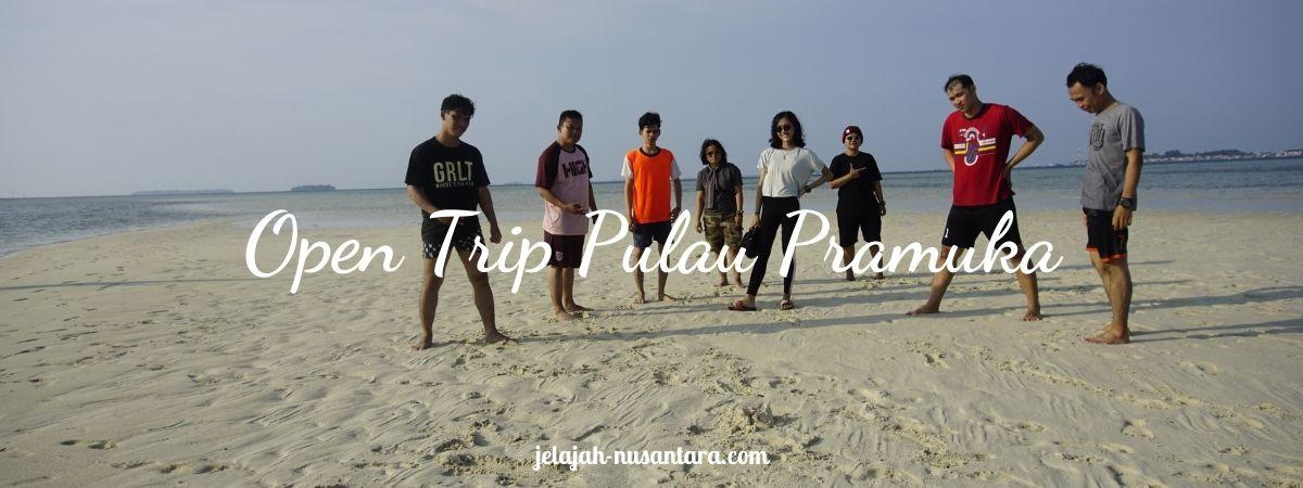 paket open trip pulau pramuka