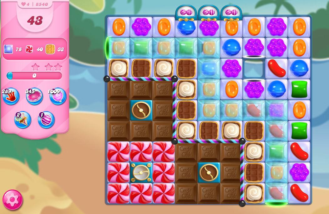 Candy Crush Saga level 8540