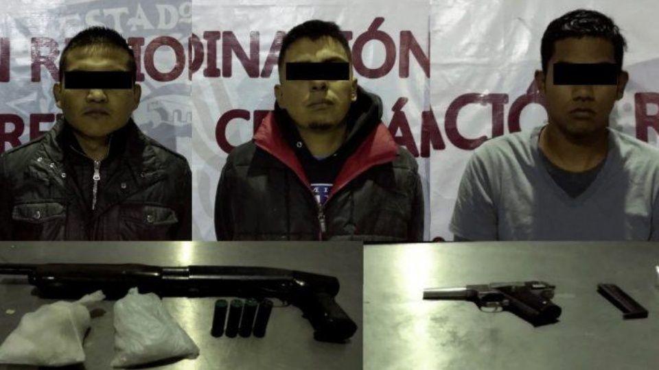 """Capturaron a tres presuntos sicarios de """"Los Mexicles"""" en Juárez"""