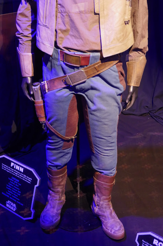 Finn costume legs Star Wars Rise of Skywalker