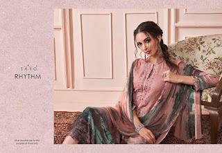 Sarg Rhythm Pashmina Winter Woolen Salwar  Kameez  Wholesale