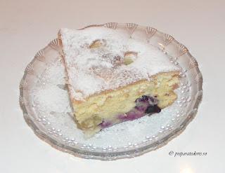 Desert tarta cu struguri retete culinare,