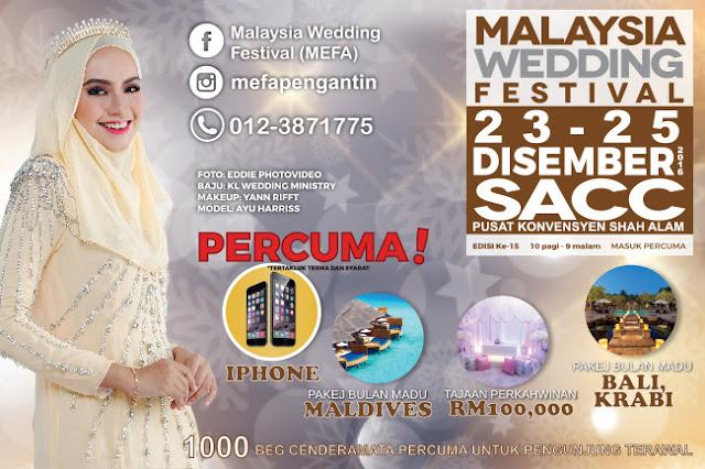 Malaysia Wedding Festival, MEFA