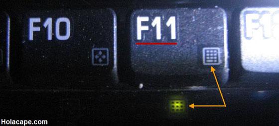 Tecla f11