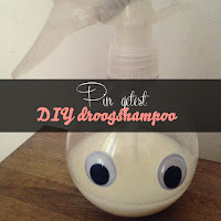 Pin getest - DIY droogshampoo