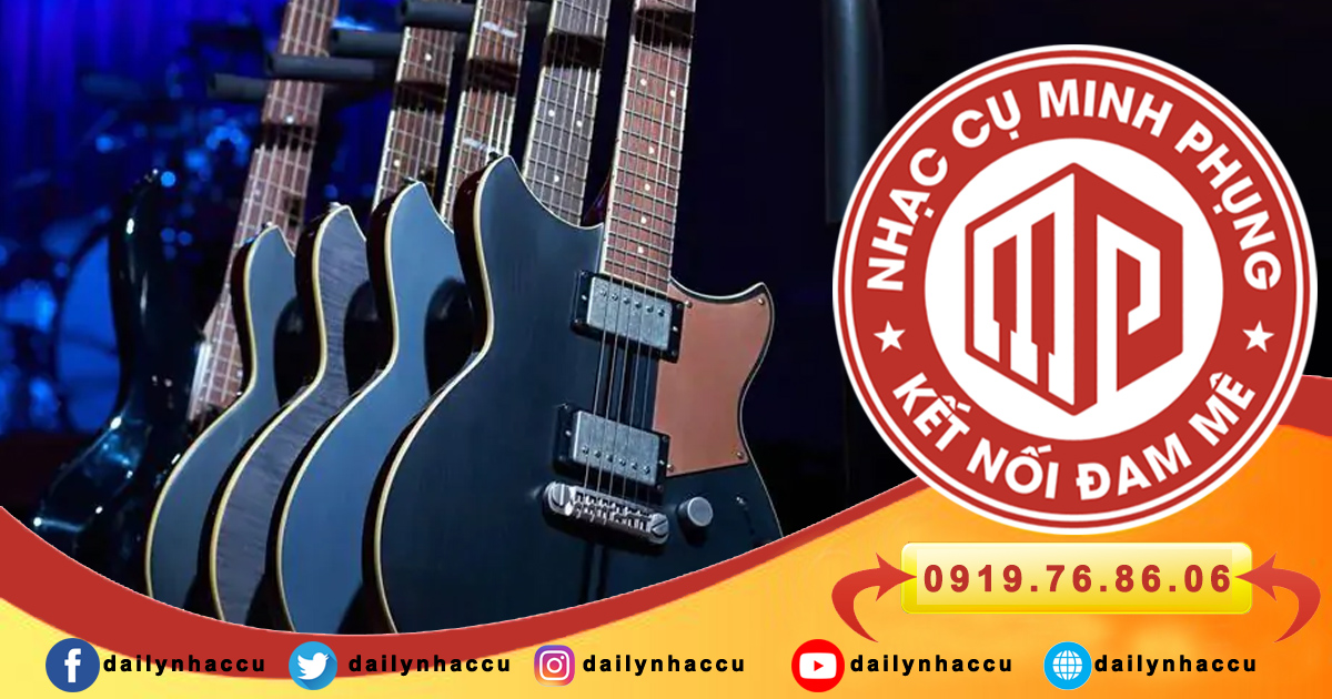 5 Đặc điểm cấu tạo nổi bật của guitar điện Yamaha mà bạn nên biết